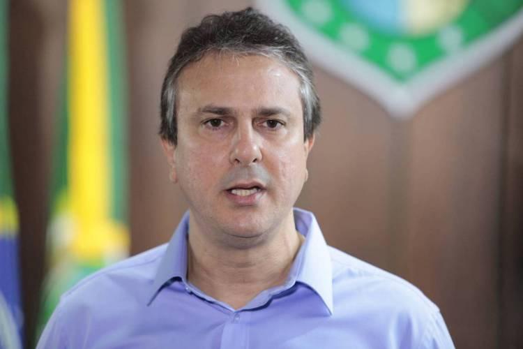 Camilo Santana anuncia medidas de apoio do Governo do Estado à retomada da economia cearense nesta manhã (Foto: FCO Fontenele)