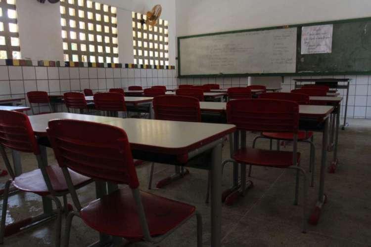 Aulas em Fortaleza só devem retomar em agosto (Foto: Diego Camelo /Especial para OPOVO em 17/11/2015)