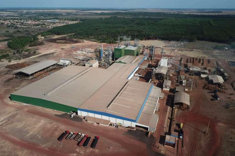 Fábrica da Floraplac é localizada em Paragominas, no Pará (Foto: Reprodução / Floraplac)