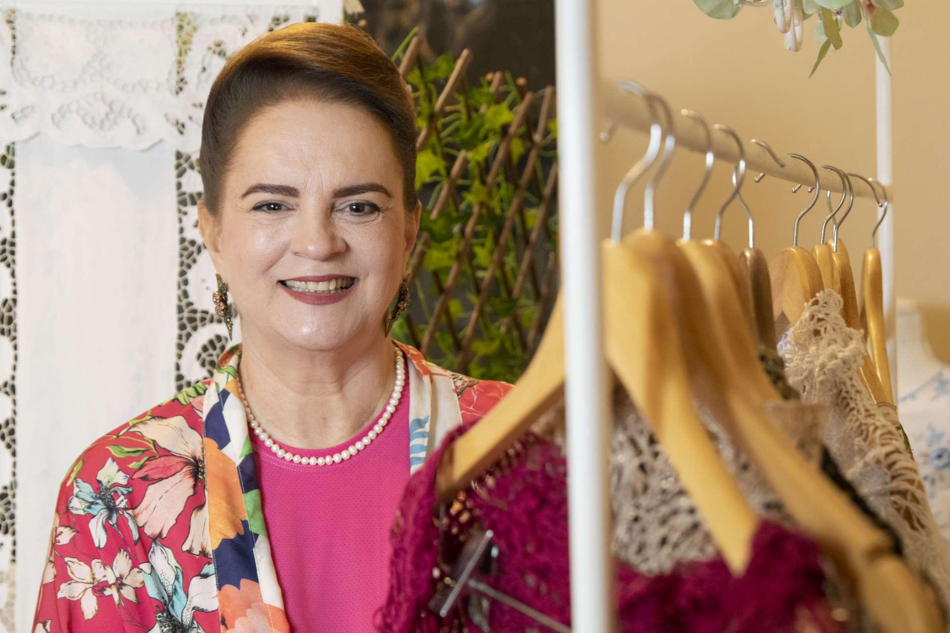 Ethel Whitehurst expandiu em 30% as vendas online e criou novos serviços (Foto: JÚLIO CAESAR)