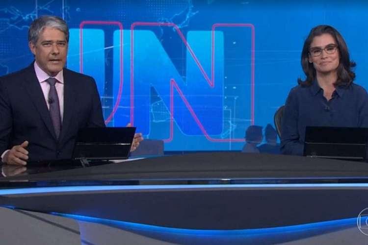 Na época, a emissora classificou a decisão como censura, mas parou de veicular reportagens sobre o Caso Queiroz referente à Flávio Bolsonaro. (Foto: Reprodução/Tv Globo)