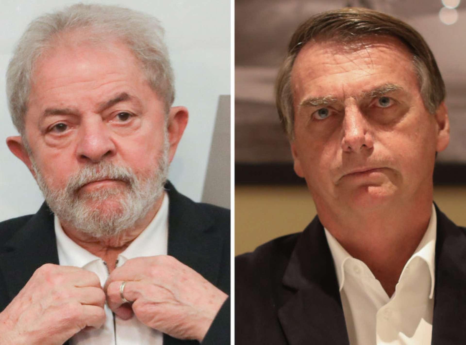 Lula da Silva/ Bolsonaro (Foto: Sérgio Lima/PODER 360)