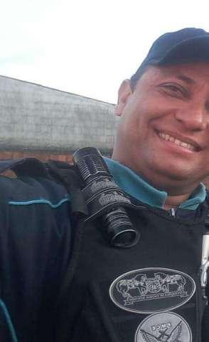 Sargento Nilton Cezar Vieira Lopes, do 21º BPM, foi morto na madrugada de sábado, 13 (Foto: Via Whatsapp)