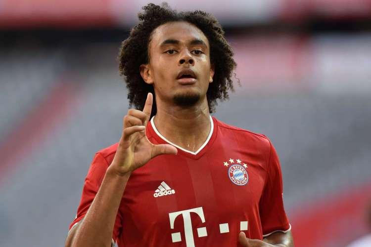 Atacante Kirkzee substituiu Lewandowski e abriu o placar no triunfo do Bayern de Munique (Foto: AFP)
