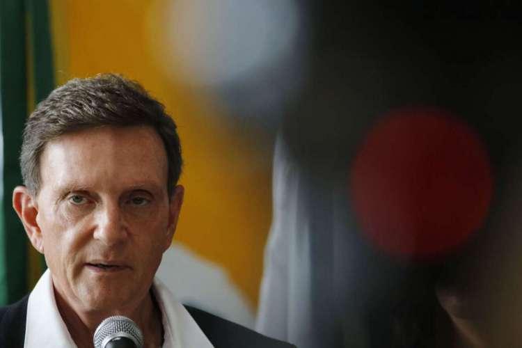 Crivella diz que o número de óbitos na cidade do Rio está diminuindo  (Foto: )