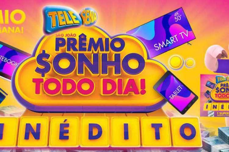 O resultado do primeiro sorteio da Tele Sena de São João 2020 será divulgado na noite de hoje, domingo, 14 de junho (14/06), às 20 horas, pelo SBT (Foto: Divulgação/SBT)