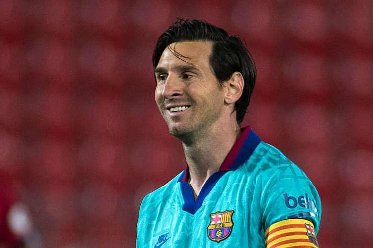Messi deixou sua marca e ainda deu duas assistências na goleada diante do Mallorca (Foto: AFP)