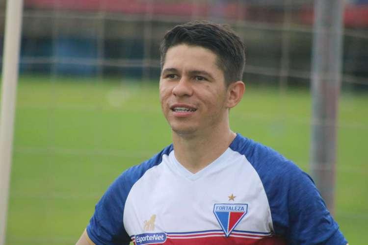 Atacante agora é o terceiro artilheiro do Leão na temporada, com quatro gols  (Foto: Bruno Oliveira/Fortaleza EC)
