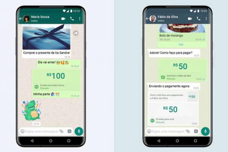 WhatsApp vai permitir fazer pagamentos a amigos e lojas pelo aplicativo. (Foto: Divulgação/WhatsApp)