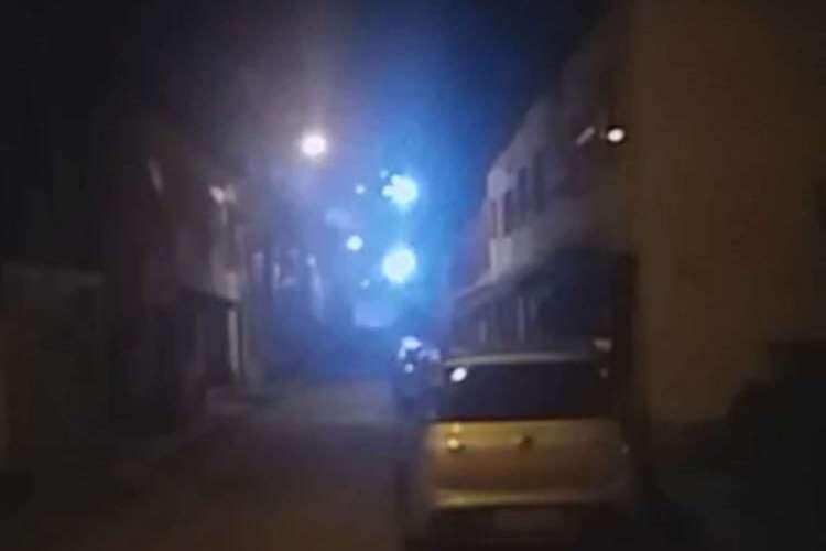 Queima de fogos em Fortaleza tem tido relação com facções criminosas. Imagem feita em junho teria relação com expansão de facção na Capital (Foto: Reprodução/ YouTube)