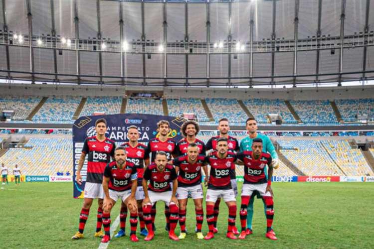 O Flamengo enfrenta o Volta Redonda pela semifinal da Taça Rio (Foto: Paula Reis / Flamengo)