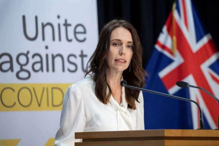 Primeira-ministra da Nova Zelândia, Jacinda Ardern  (Foto: Mark Mitchell / POOL / AFP)