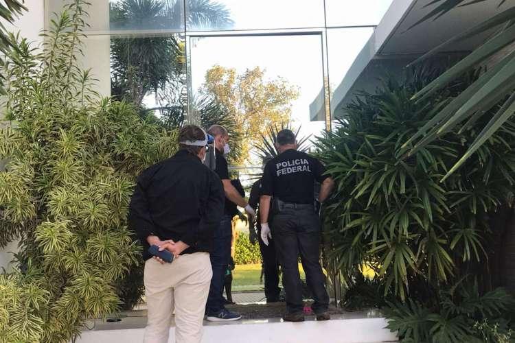 PF em operação conjunta com Receita Federal (Foto: Divulgação/Polícia Federal)