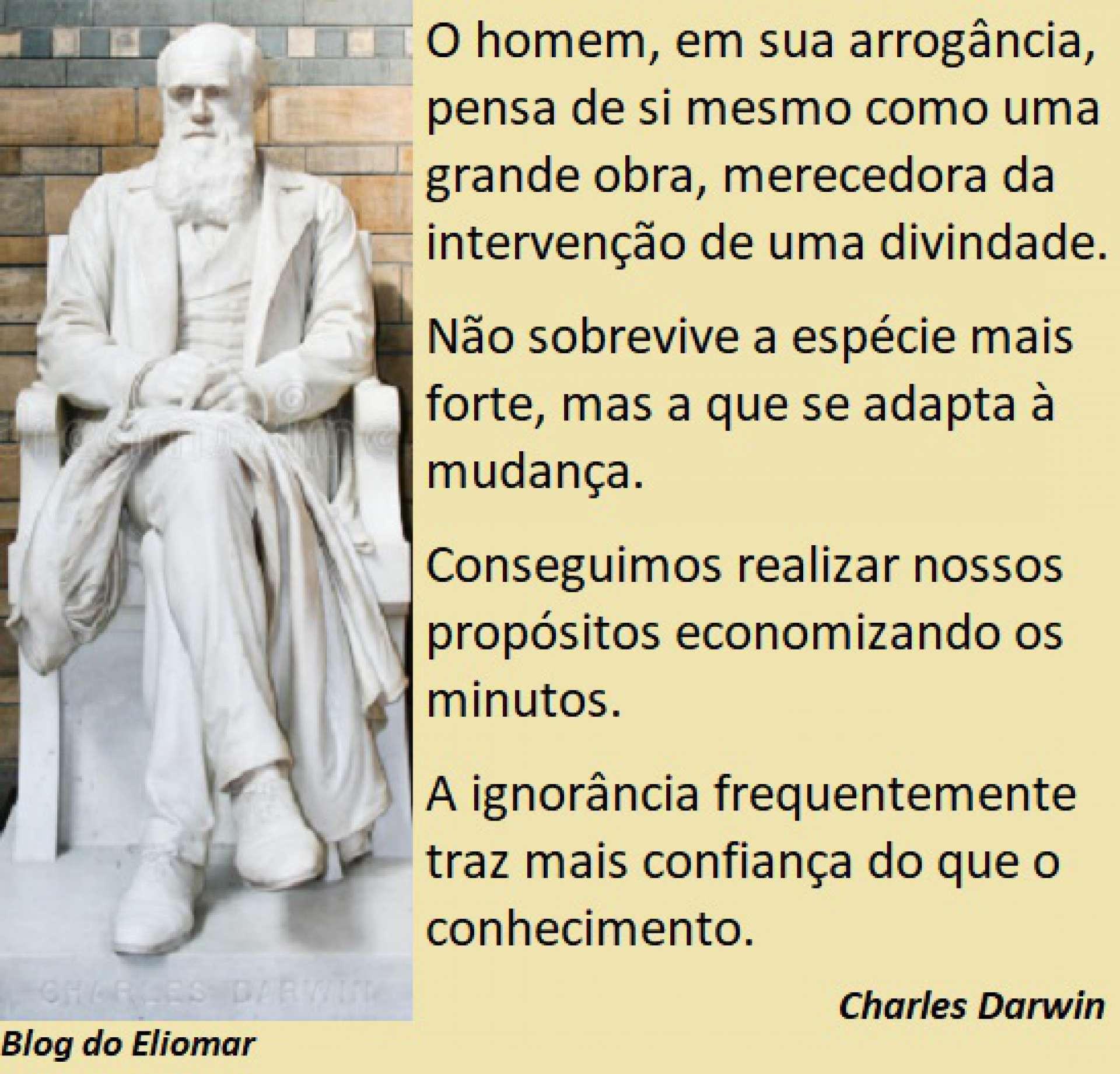 Há 163 anos, o biólogo inglês Charles Darwin publicava a teoria da evolução natural