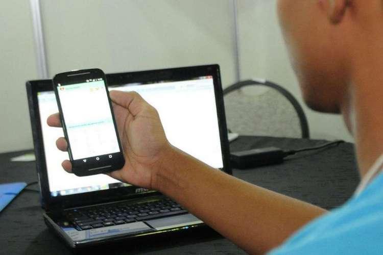PACOTE de dados deve garantir acesso de alunos  da rede estadual ao ensino remoto durante pandemia (Foto: Agencia Brasil)