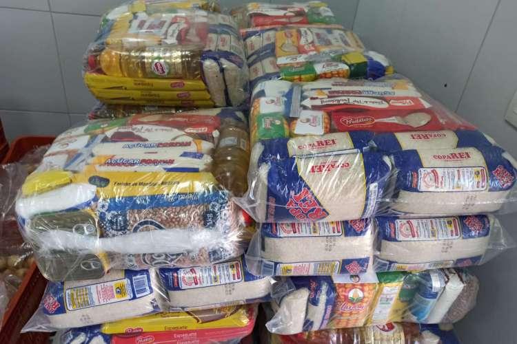A meta inicial da campanha é arrecadar cerca de 3 mil cestas básicas, o equivalente a 40 toneladas de alimentos, até maio (Foto: Divulgação)