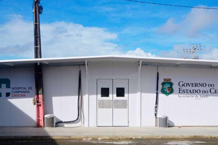Obras estruturais da unidade ficaram prontas nessa quinta-feira, 18 (Foto: Divulgação/Prefeitura de Caucaia)
