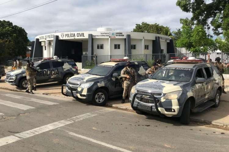 Uma das sede da Secretaria da Segurança Pública na Paraíba. (Foto: Richard Lopes/SSPDS-PA) (Foto: Foto: Richard Lopes/SSPDS-PA)