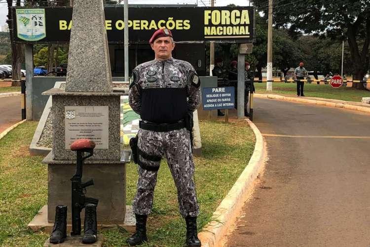 Coronel Aginaldo está na Força Nacional há quatro anos (Foto: Divulgação)