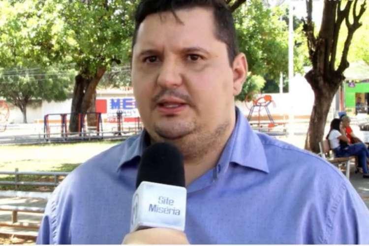 Lúcio Barão está afastado da presidência do Barbalha desde 25 de maio (Foto: Reprodução/YouTube/Site Miséria )