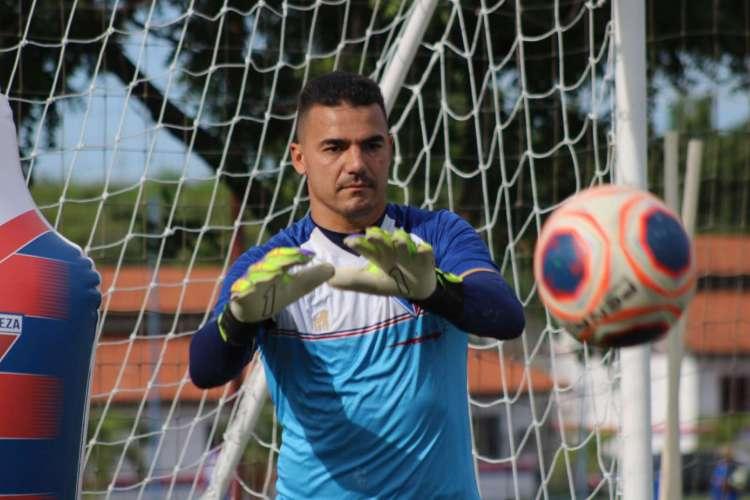 Felipe Alves é o goleiro titular do Fortaleza  (Foto: Bruno Oliveira/Fortaleza EC )