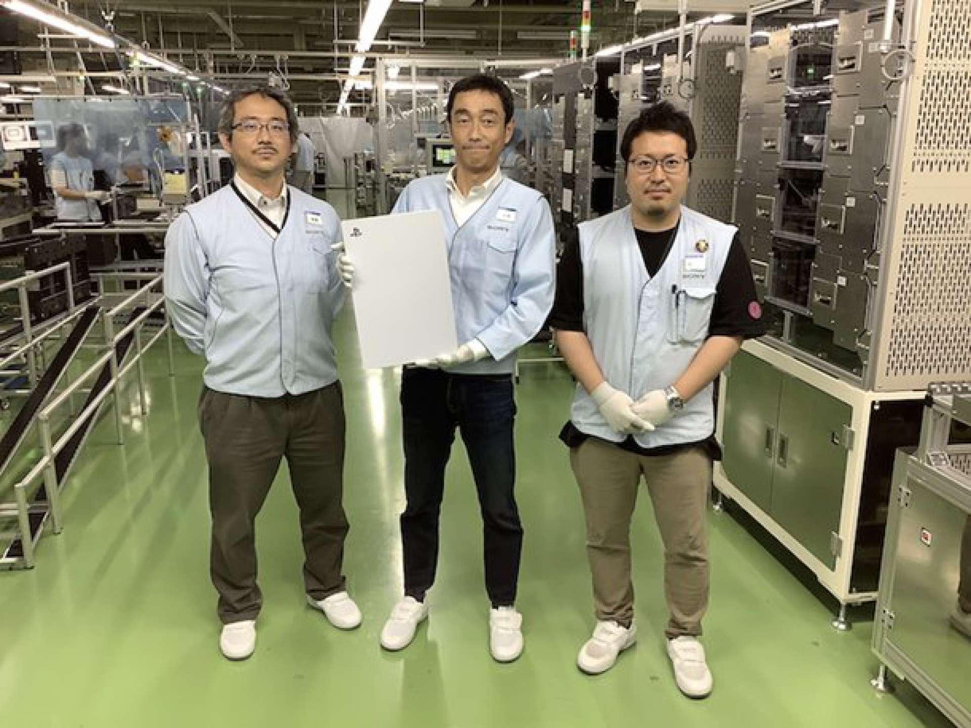 Imagem teria sido tirada na fábrica em que o console está sendo produzido