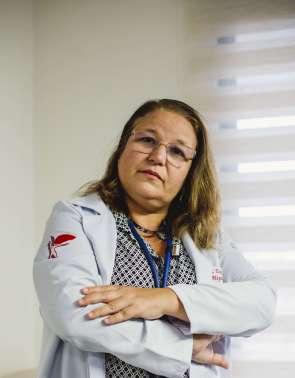 FORTALEZA, CE, BRASIL, 23-6-2020: Elodie Hyppolito, hepatologista. (Foto: Aurelio Alves/O POVO)