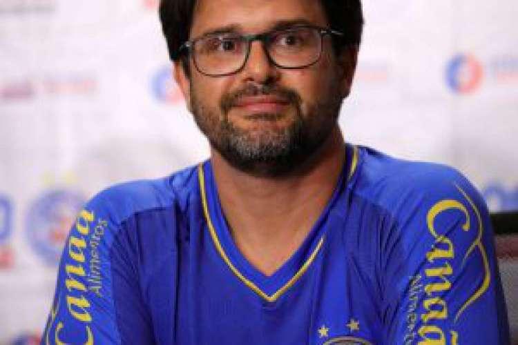 Guilherme Bellintani, presidente do Bahia, se manifestou favorável à emenda à MP 984 (Foto: Divulgação/EC Bahia)