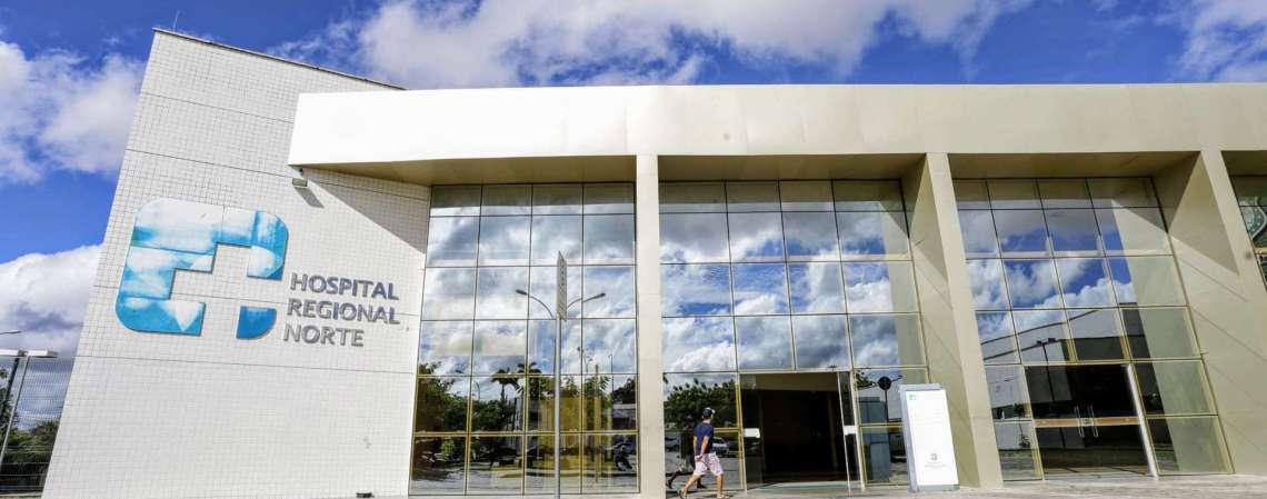 Hospital Regional Norte (HRN) em Sobral  (Foto: TATIANA FORTES/GOVERNO DO CEARÁ)