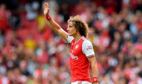 Zagueiro David Luiz se despede do Arsenal ao final do vínculo