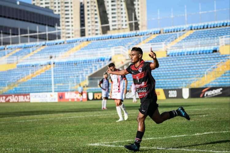 Emerson Catarina retorna de empréstimo para o Atlético-CE (Foto: Kely Pereira/Atlético-CE)