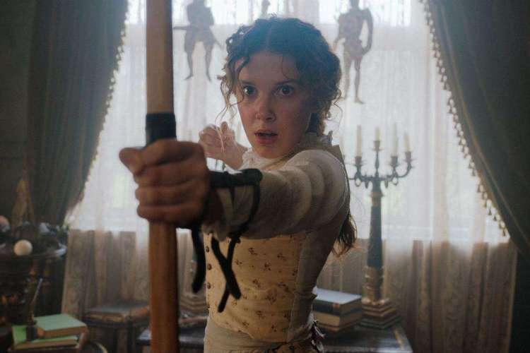 Estrela de Stranger Things, Millie Bobby Brown será protagonista do novo filme da Netflix que irá retratar a vida irmã de Sherlock Holmes (Foto: Netflix/ Divulgação)