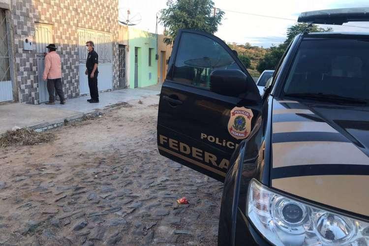 Maioria dos mandados foram cumpridos em Catarina, cidade distante 405,3 km de Fortaleza (Foto: Divulgação/PF)