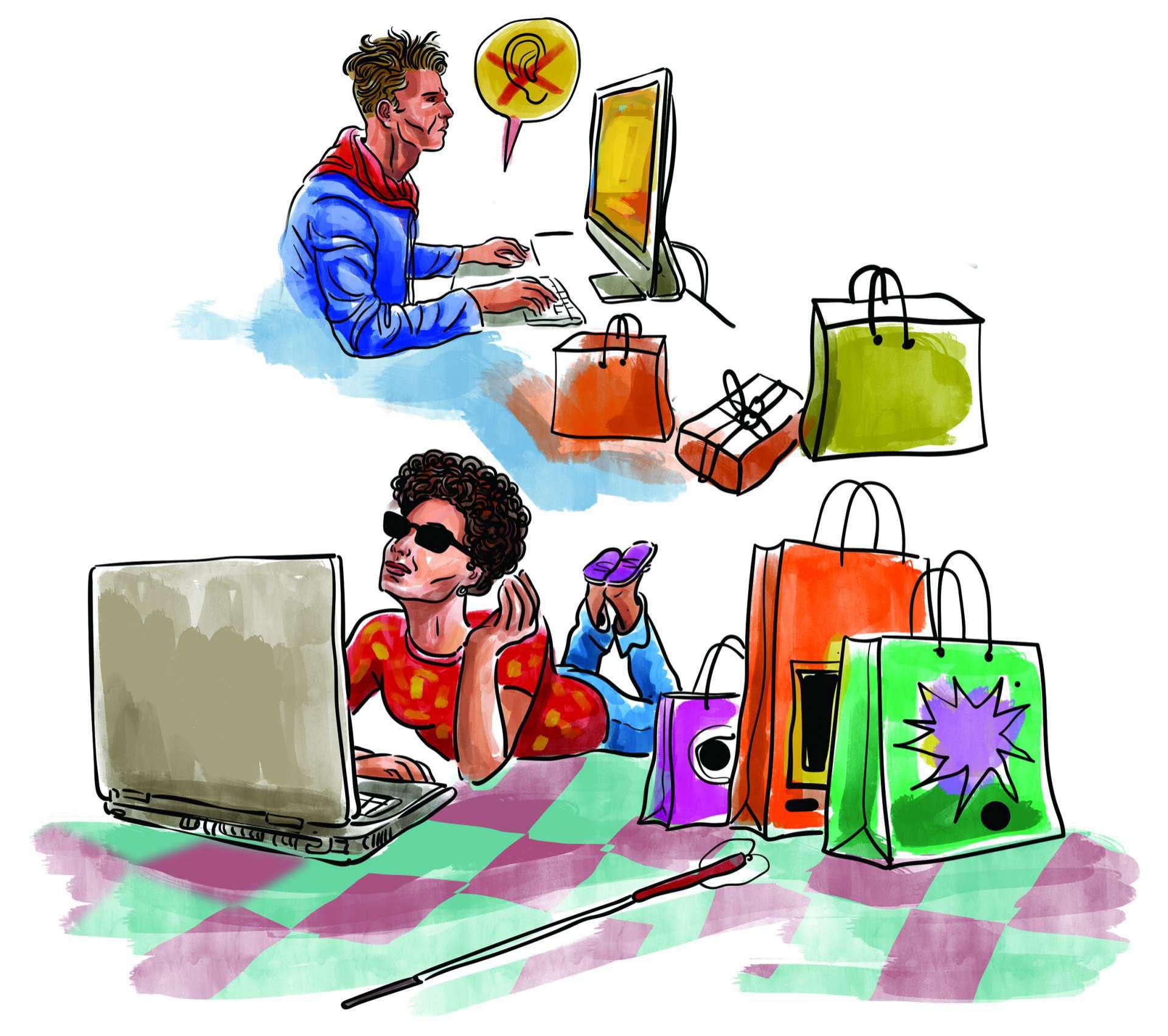 Acessibilidade dos sites aos deficientes