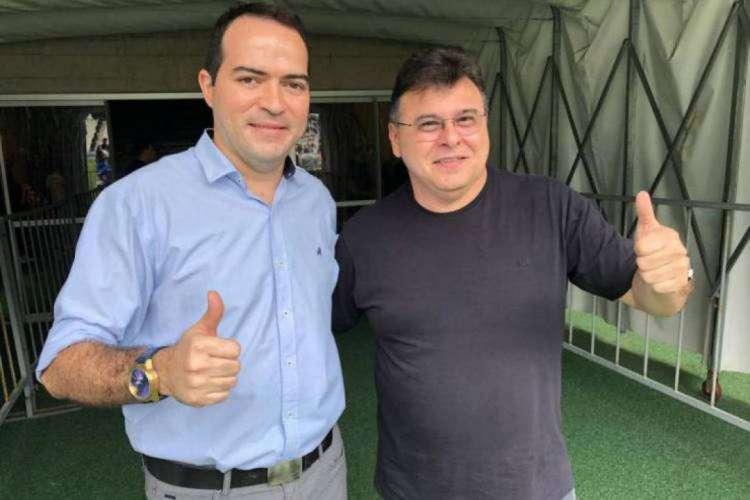 Marcelo Paz e Robinson de Castro votaram a favor da data para início  (Foto: Divulgação/Ceará)