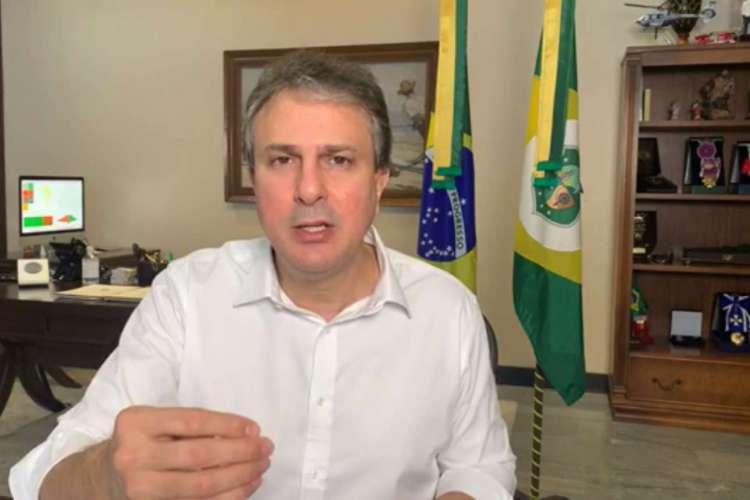 Medidas foram anunciadas pelo governador Camilo Santana (PT) durante live na tarde desta sexta-feira, 28 (Foto: REPRODUÇÃO)