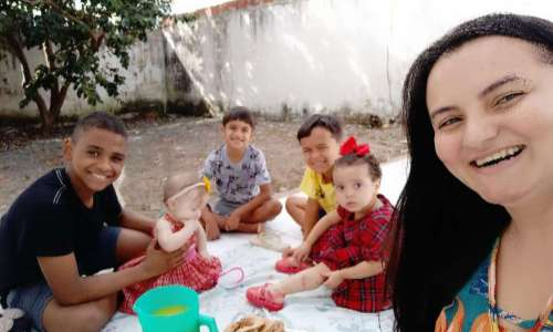 Isaac e sua família
