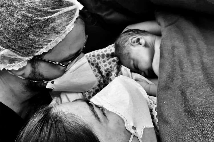 Especial médicos na pandemia da Covid-19. Pós-parto em um dos hospitais de Fortaleza. 28/6/2020. Fortaleza-Ceará.Brasil. Foto: Nilfacio Prado