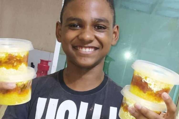 Isaac Viana ama a vida, cuscuz de calabresa e Belchior (Foto: Acervo Pessoal)