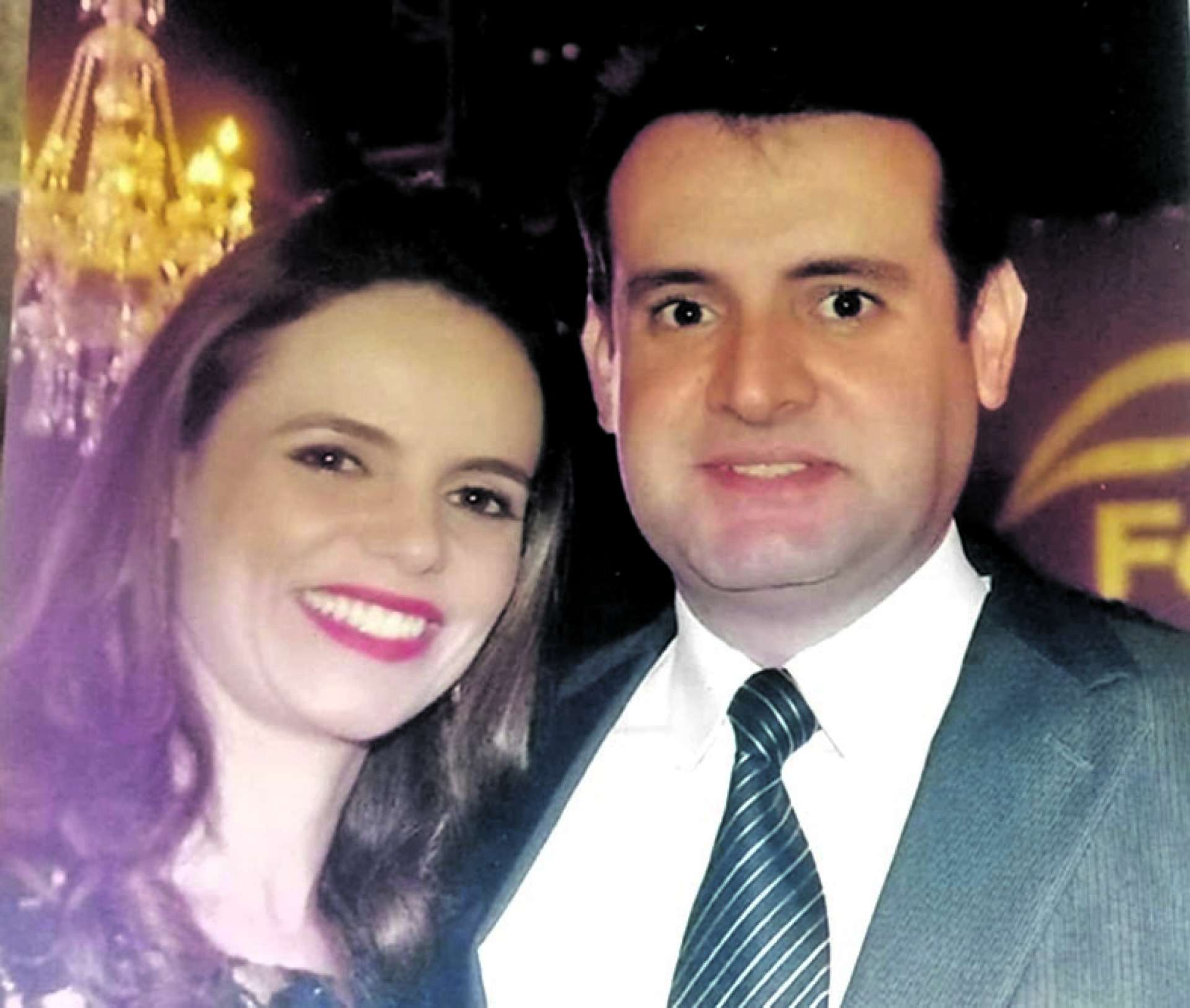 Cristiane Canamary, sobrinha do Barão de Studart, e Fernando Gurgel, trineto do coronel Zegentil. (Rodrigues)