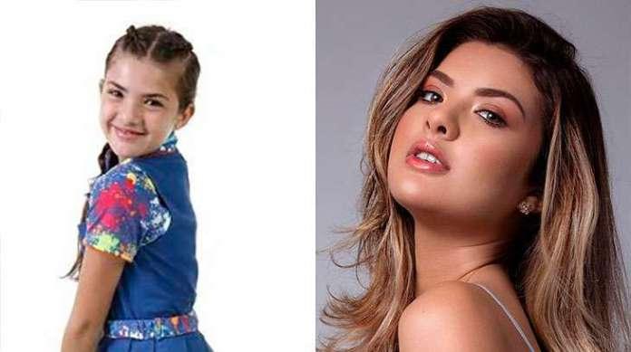 Antes e depois de Lívia Inhudes, que interpretou a Vivi em Chiquititas