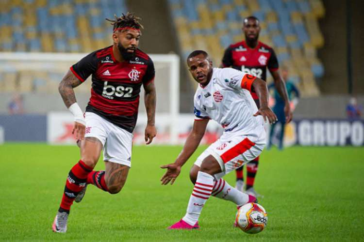 Equipe titular do Flamengo estreia hoje no Carioca 2021 em jogo contra o Bangu: você pode assistir à transmissão ao vivo por pay-per-views (Foto: ALEXANDRE VIDAL/FLAMENGO)