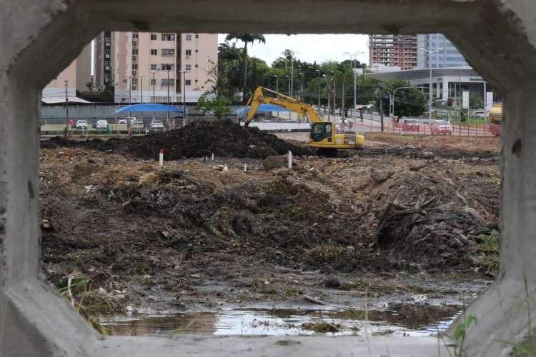 Parque Rachel de Queiroz, no bairro São Gerardo (Foto: Fabio Lima)