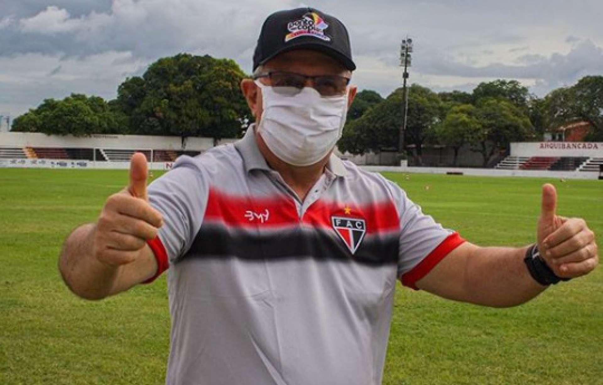 Marcelo Vilar testou negativo no exame sorológico do coronavírus