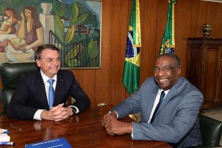 Bolsonaro e Decotelli (Foto: Divulgação)