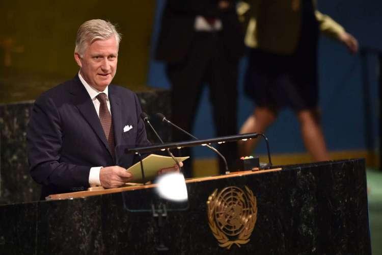 Filipe da Bélgica, monarca do país (Foto: HECTOR RETAMAL / AFP)