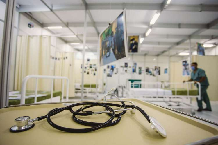 HOSPITAL DE CAMPANHA da Unimed foi desmontado no dia 30 de junho; outros serviços foram retomados  (Foto: Aurelio Alves/ O POVO)