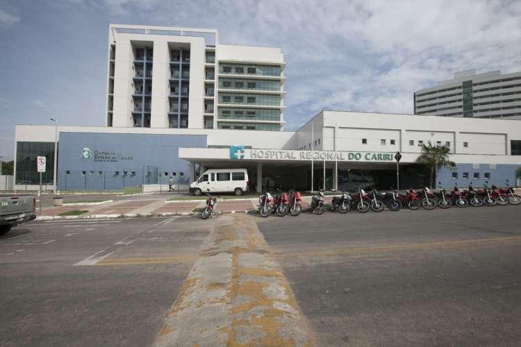 Hospital Regional do Cariri, em Juazeiro do Norte (Foto: Divulgação/Governo do Ceará)