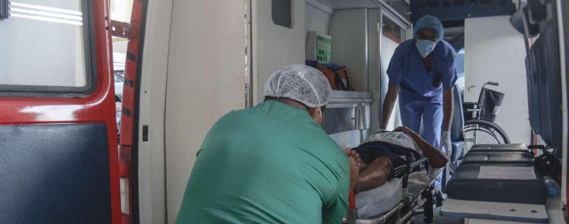 Sistema de saúde do Ceará está saturado (Foto: Barbara Moira)