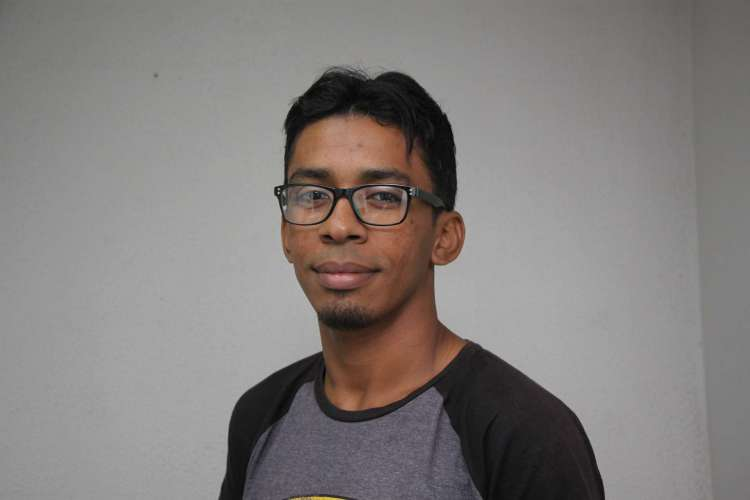 Ciswal Santos, 33 anos, professor (Foto: Mauri Melo)